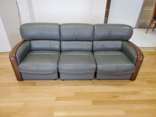 岡山県岡山市のソファー張替え実績