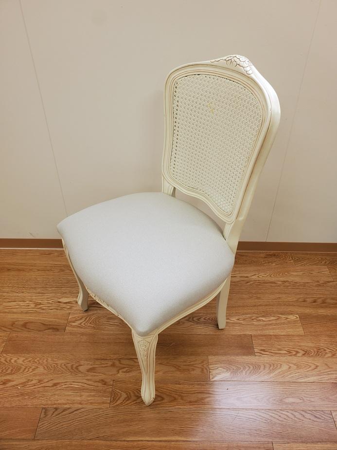 岡山市の椅子張替え・ソファー張替え写真